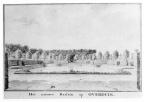 a - Overduin - nieuwe vijver - tekening Jan Arends 1772 - HET01