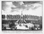 Petersburg - grote cabinet - gravure A Rademaker ca 1791 - DE2