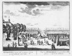 Petersburg - grote laan - gravure A Rademaker ca 1791 - DE2