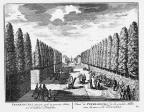 Petersburg - naar fontein - gravure A Rademaker ca 1791 - DE2