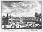 Petersburg - oranjerie - gravure A Rademaker ca 1791 - DE2