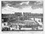 Petersburg - voliere - gravure A Rademaker ca 1791 - DE2