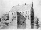 Vollenhove DenOldenhof - penseeltekening H Tavenier 1786