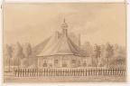 Heiloo Coulster - tekening CW Bruinvis naar JA Crescent, 1890 - Beeldbank Alkmaar
