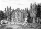 Heiloo Coulster - voor 1847, litho van Madou