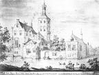 Heiloo Coulster - voor de verbouwing van 1644, tekening A Rademaker