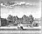 Assumburg - gravure van H de Leth, 1730