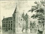 Assumburg - tekening C Pronk 18e eeuw - HA1