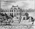 Twello 1Parckeler - gewassen pentekening door Berckhuijs, 1717