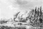 Baambrugge 1Middelvaart - tekening door PJ Lutgers uit 1843 - GE4