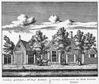 Baambrugge 1Overdorp - ets Abraham Rademaker, 1730 - HOL1