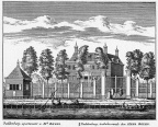 Baambrugge 1Paddenburg - ets Abraham Rademaker, 1730 - HOL1