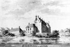 Rechteren Kasteel - penseeltekening A. de Haen 1729