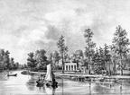 Maarssen Doornburg - gravure PJ Lutgers ca 1836 - GE2