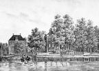 Maarssen Goudesteijn - gravure PJ Lutgers ca 1836 - GE2