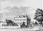 Baarland - noordzijde - tekening door C Pronk ca 1730 - MI1