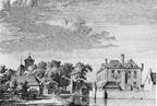 Baarland - oostzijde in 1743 - MI1