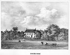 Noordwijk Offem - gravure P.J.Lutgers, ca 1856 - GEZ1