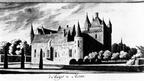 Hernen - zuidwestzijde door H Tavenier 1782