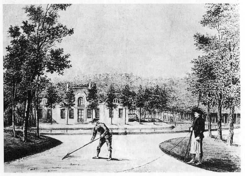 Domburg Duinvliet - tekening vermoedelijk AI Melling, ca 1814 - JAN01