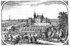 Hooge Ter - gravure uit Speculum Zelandiae, ca 1650 - JAN01