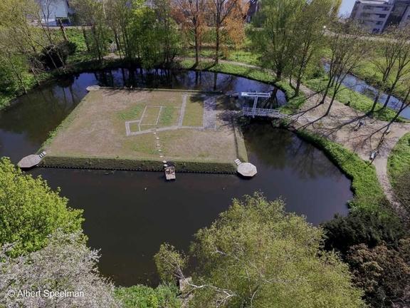 CapelleADIJssel Kasteel 2016 ASP 01 Luchtfoto
