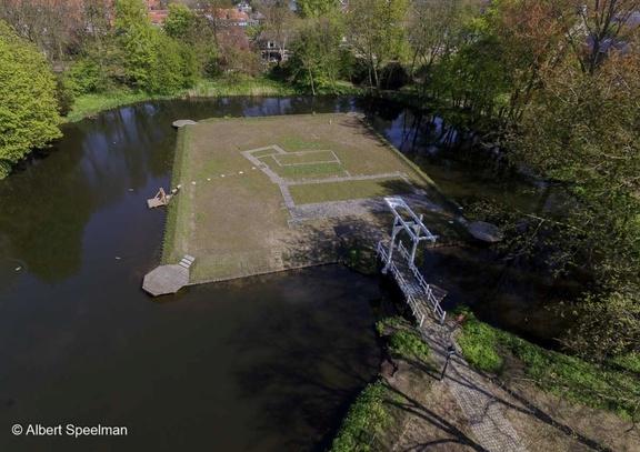 CapelleADIJssel Kasteel 2016 ASP 02 Luchtfoto
