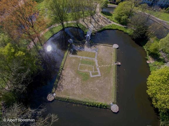 CapelleADIJssel Kasteel 2016 ASP 06 Luchtfoto
