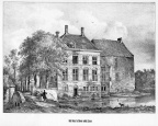 Lisse Dever - gravure P.J.Lutgers, ca 1856 - GEZ1