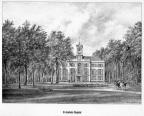 Wassenaar Clingendael - gravure P.J.Lutgers, ca 1856 - GEZ1