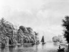 Loenen Vegtlust - tekening door PJ Lutgers uit 1872 - GE4