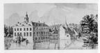 Vierlingsbeek Makken - van achteren - pentekening Jan de Beijer, JA1