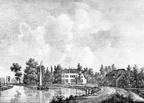 Breukelen Vecht en Rhijn - gravure PJ Lutgers ca 1836 - GE2