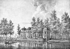 Breukelen Vechtstroom - gravure van PJ Lutgers ca 1836 - GE2