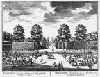 LoenenADVecht Wallesteyn - tuin - gravure A Rademaker ca 1791 - DE2
