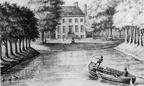 Den Haag - Oud Rosenburg - anonieme tekening, 1804 - DE3