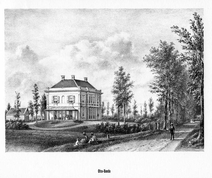 Driebergen Nijendal - litho PJ Lutgers, 1869 - GEZ2