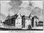 Maartensdijk - tekening door C Pronk 1743 - MI1
