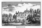 Heemstede Berkenrode - van de familie Trip - gravure A Rademaker - KA4