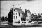 Boskamp GrootHoenlo - tekening door C Pronk, 1732