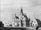 Wijchen Kasteel - tekening C Pronk 1732 - HU1